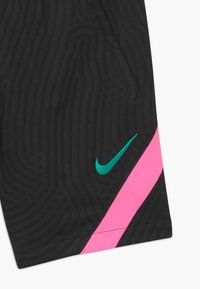 Nike Performance - FC BARCELONA UNISEX - Sports shorts - black/pink beam/new green - 2