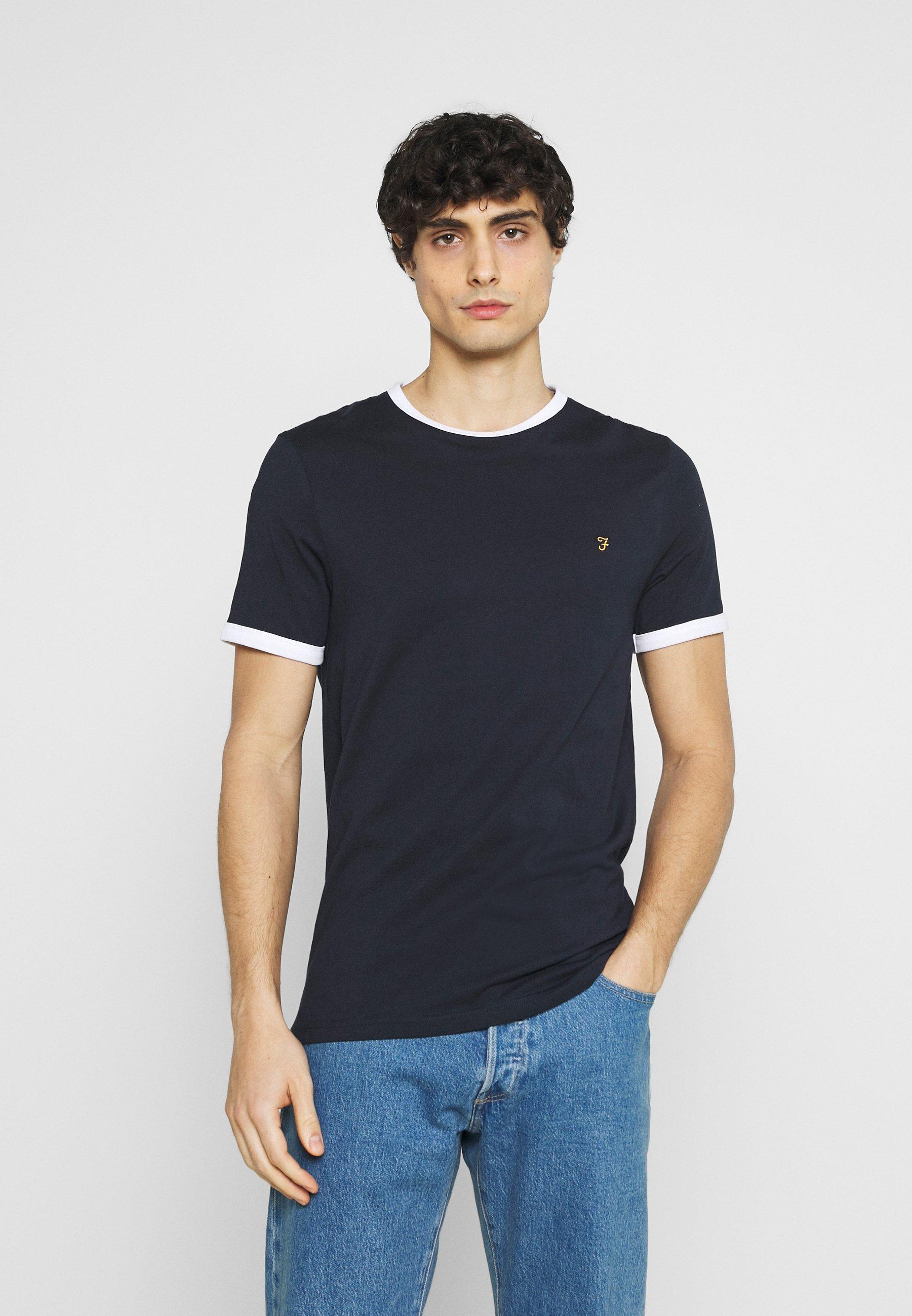 Men GROVES RINGER TEE - Print T-shirt