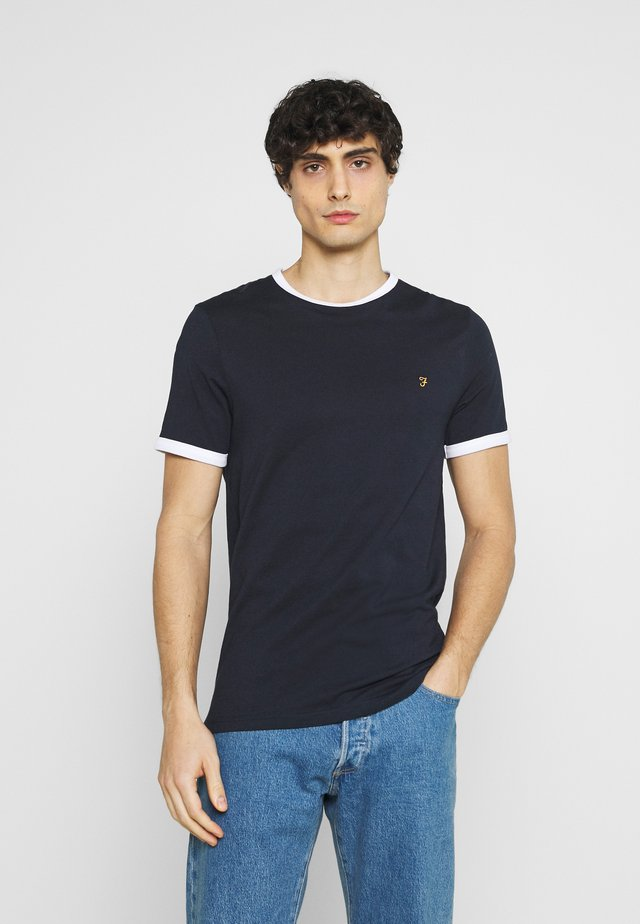 GROVES RINGER TEE - T-paita - true navy