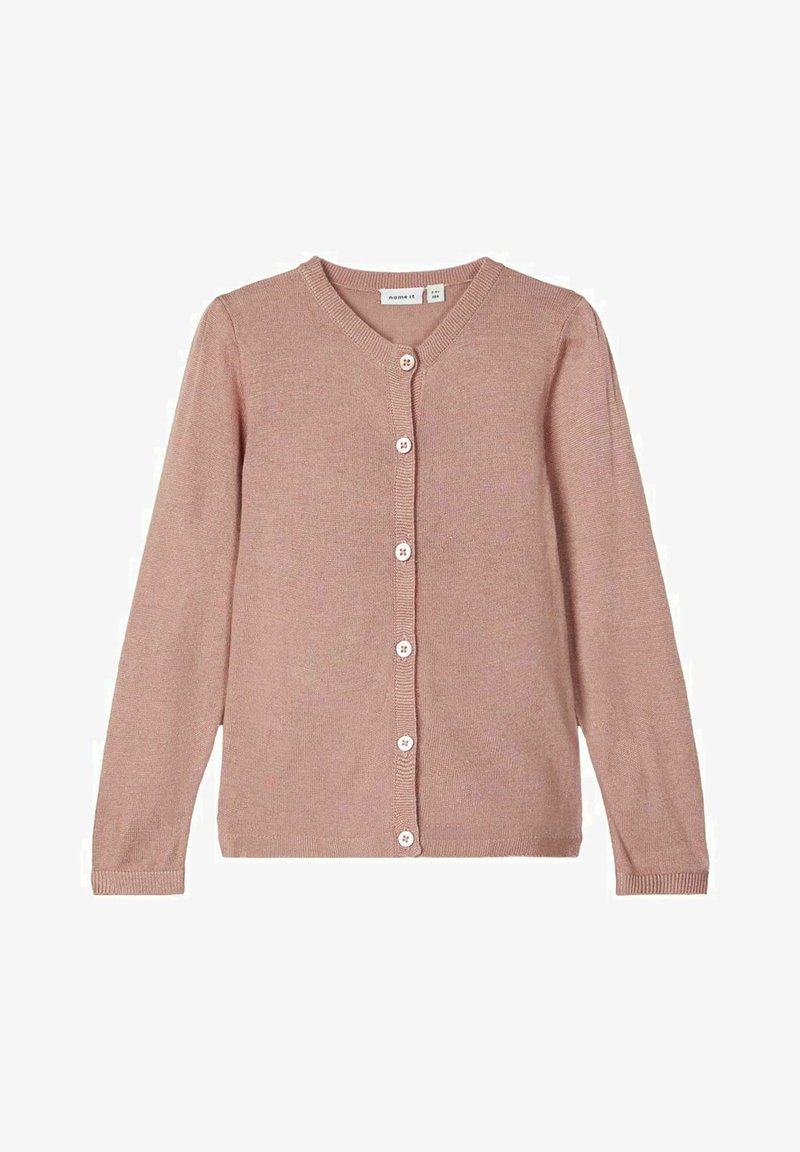 Name it - GLITZER - Cardigan - deauville mauve