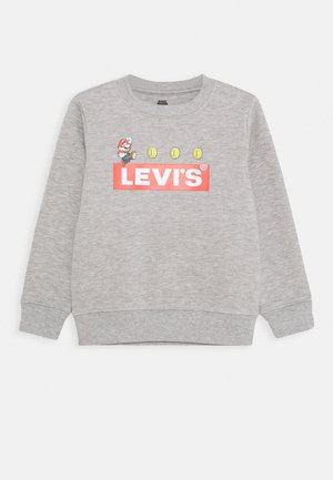 MARIO COIN CREWNECK - Bluza - grey heather
