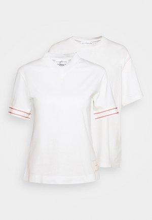 CLASSIC 2 PACK  - T-shirt print - off white