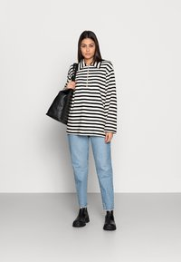 ARKET - Sweatshirt - offwhite/black - 1