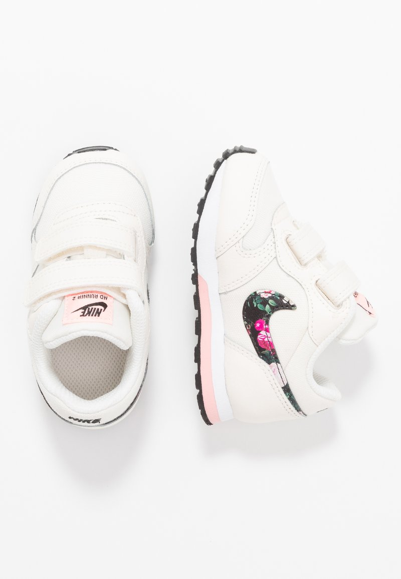 Nike Sportswear - RUNNER 2  - Trainers - pale ivory/black/pink tint/white