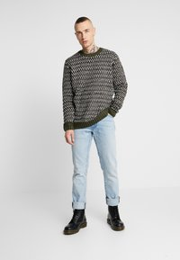 Only & Sons - ONSZIGOR CHUNKY CREW NECK - Jumper - olive night - 1