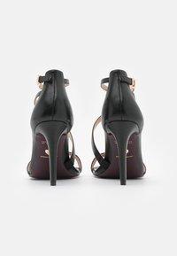 Tamaris Heart & Sole - Sandály na vysokém podpatku - black - 3