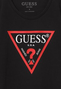 Guess - JUNIOR CORE - Sukienka z dżerseju - jet black - 3