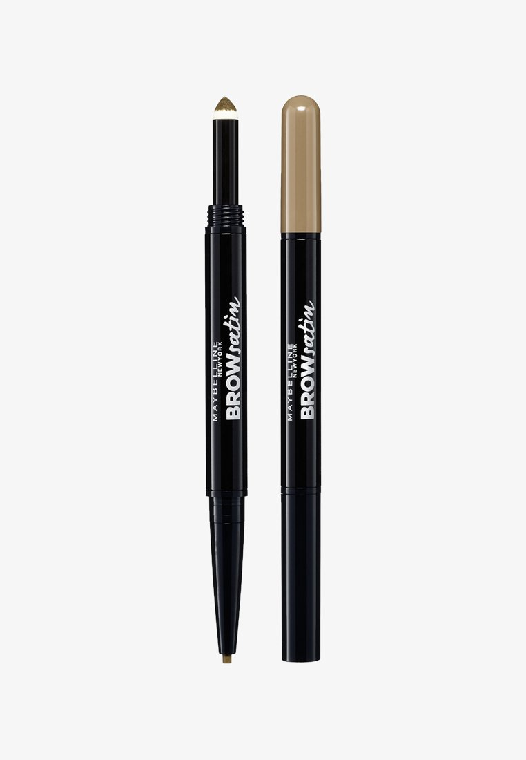 Maybelline New York - BROW SATIN DUO - Augenbrauen Make-up - dark blond