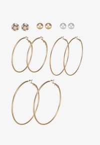 ALDO - LOTHEADDA 6 PACK - Earrings - white - 3