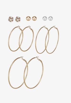 LOTHEADDA 6 PACK - Earrings - white