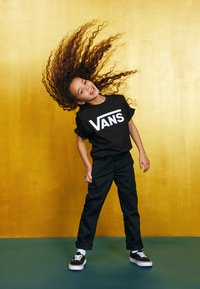Vans - CLASSIC BOYS - T-shirt print - black/white - 3