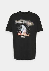 Night Addict - UNISEX INFERNO - Print T-shirt - black - 3