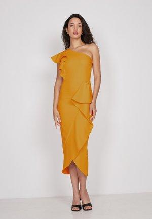 Cocktail dress / Party dress - ochre