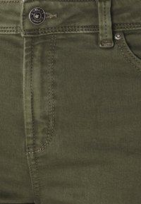 Esprit - Denim shorts - khaki green - 2