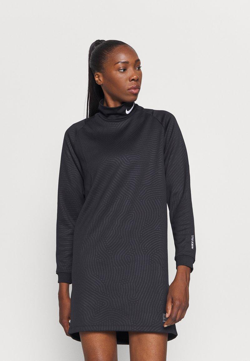 Nike Performance - FC DRESS - Sports dress - black/white
