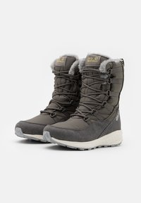 Jack Wolfskin - NEVADA TEXAPORE HIGH - Zimní obuv - dark grey/light grey - 1