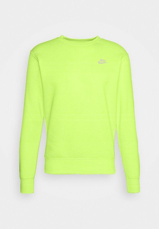 CLUB - Sweatshirt - liquid lime