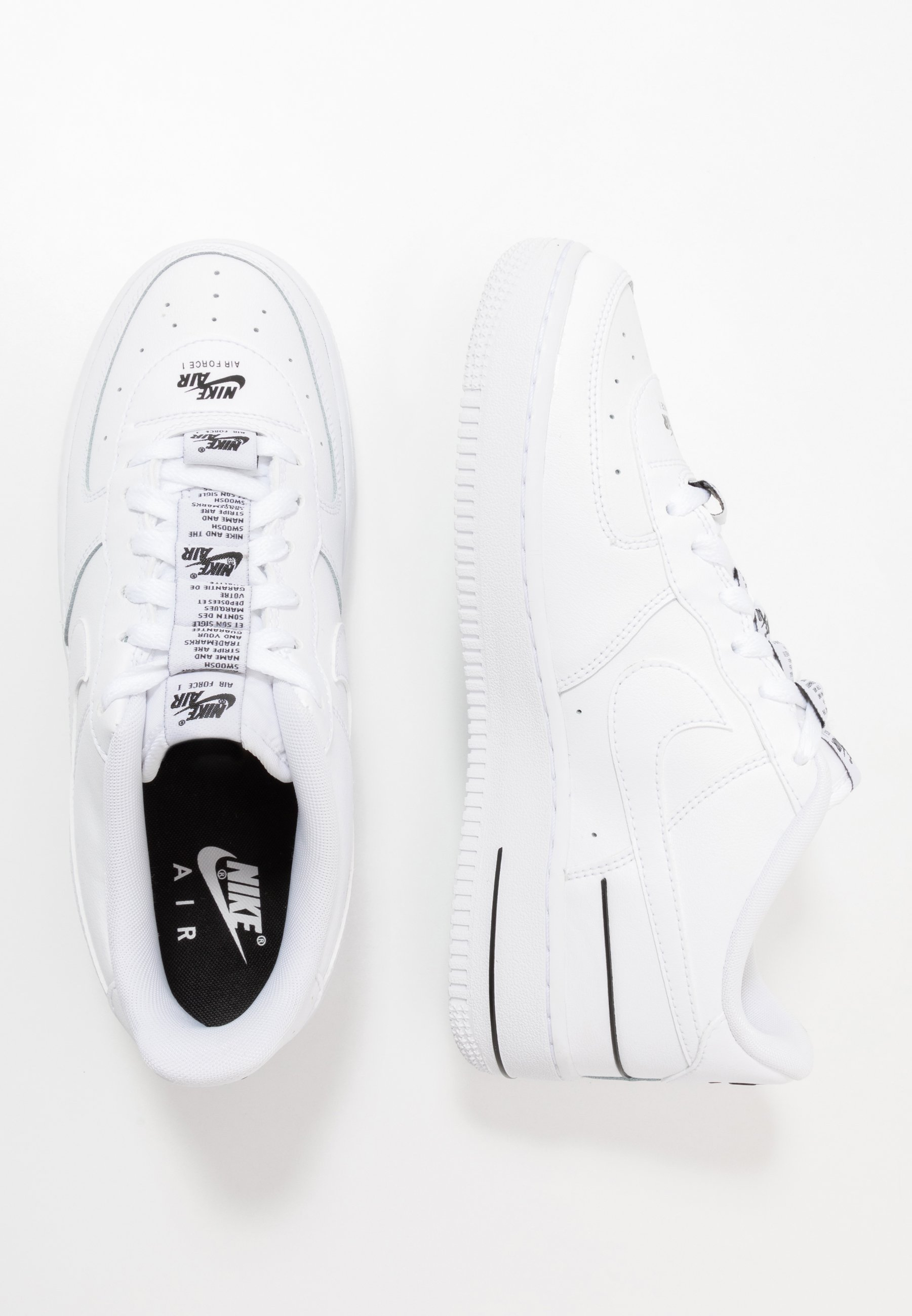 Nike Sportswear Air Force 1 Lv8 3 Sneakers Laag White Black Wit Zalando Nl