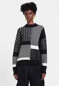Desigual - JERS_SAVONA - Sweatshirt - black - 1