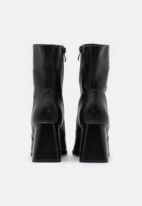 Koi Footwear - VEGAN - High heeled ankle boots - black - 3