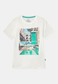 Tiffosi - ADAMASTOR - T-shirt print - beje - 0