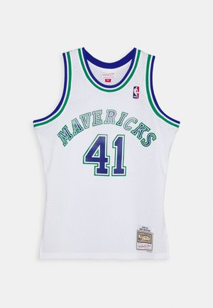 NBA DALLAS MAVERICKS DIRK NOWITZKI SWINGMAN - Club wear - white