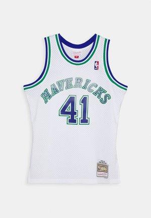 NBA DALLAS MAVERICKS DIRK NOWITZKI SWINGMAN - Squadra - white