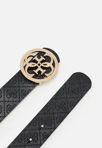 Guess - JENSEN PANT BELT - Belt - brown/black - 1