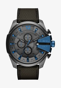 Diesel - MEGA CHIEF - Chronograph watch - grey/black - 1