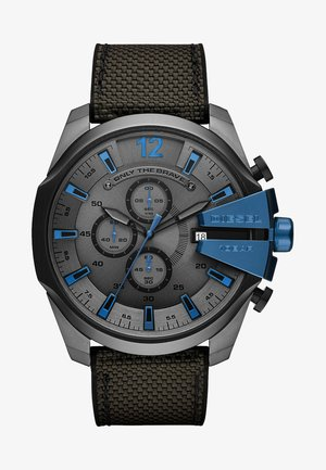MEGA CHIEF - Chronograph watch - grey/black