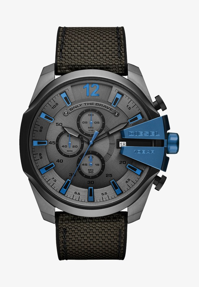 MEGA CHIEF - Chronograaf - grey/black