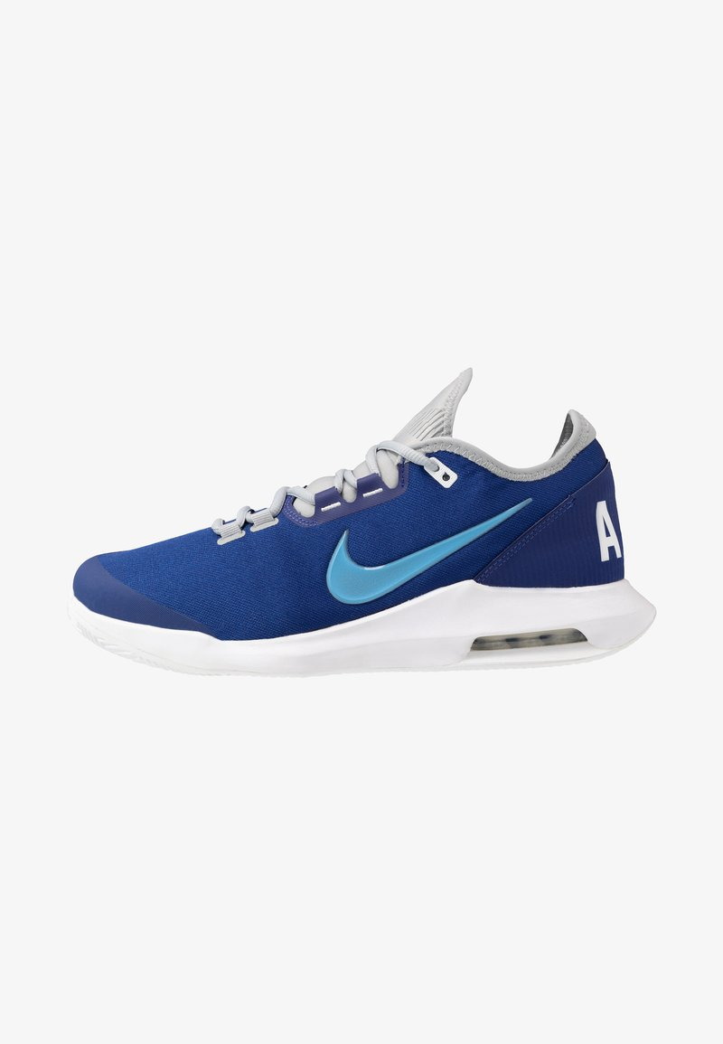 Nike Performance - COURT AIR MAX WILDCARD CLAY - Clay court tennis shoes - deep royal blue/coast/white