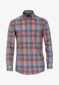 Casamoda - Shirt - orange/blue - 0