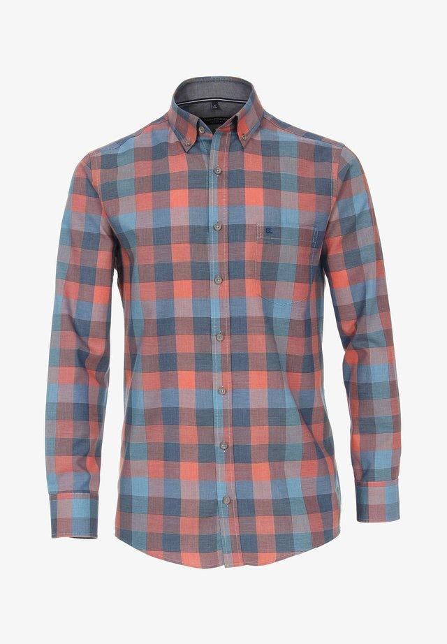 Shirt - orange/blue