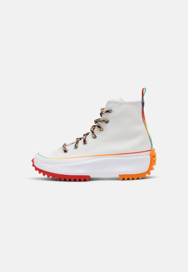 RUN STAR HIKE FIND YOUR PRIDE HIGH TOP UNISEX - Sneakers hoog - white/multi