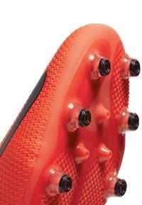Nike Performance - PHANTOM VISION 2 PRO DF AG-PRO - Moulded stud football boots - laser crimson/black/metallic silver - 5