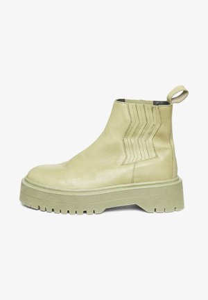 MARLEEGZ - Platform ankle boots - elm