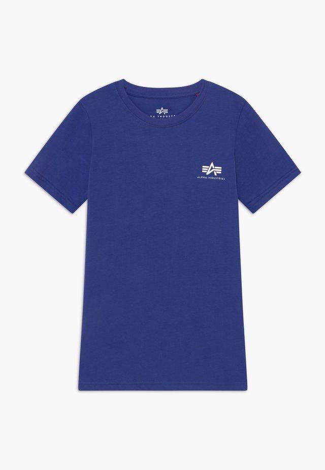 BASIC TEE SMALL LOGO KIDS/TEENS - T-Shirt print - nautical blue