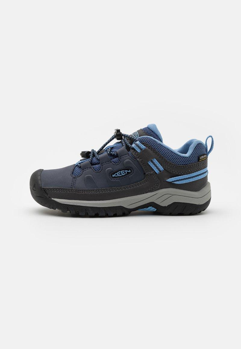 Keen - TARGHEE LOW WP UNISEX - Hiking shoes - blue nights/della blue
