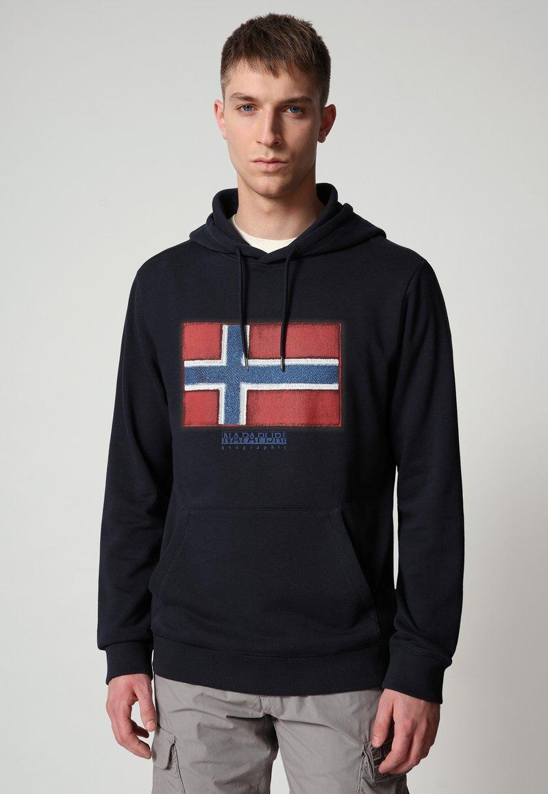 Napapijri - BIROL HOOD - Luvtröja - blu marine
