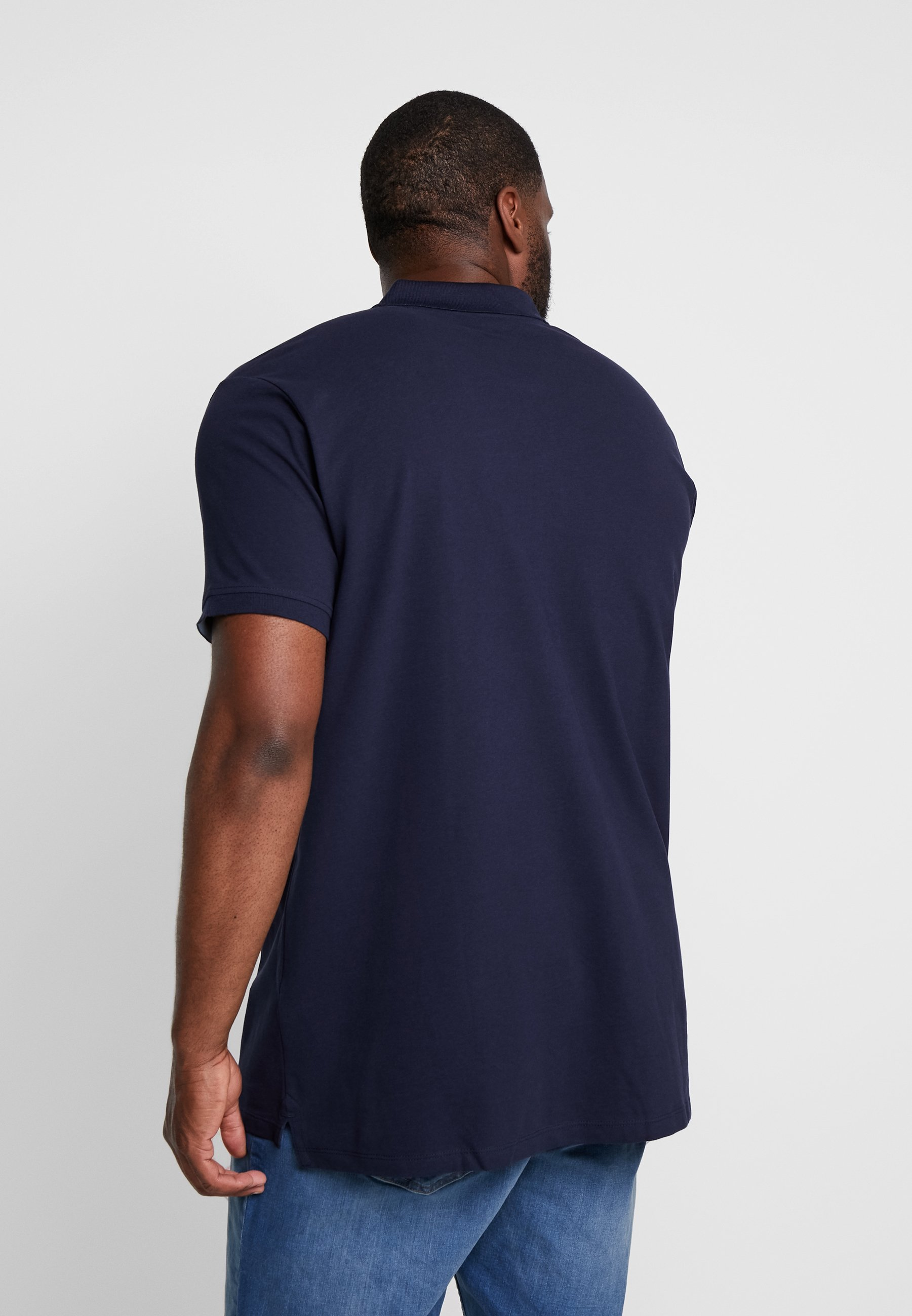 Esprit BASIC PLUS BIG - Polo shirt - navy dAO1U