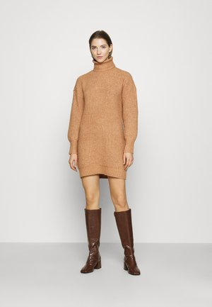 Jumper dress - terracotta