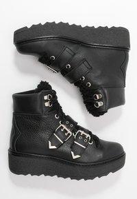 Shoe The Bear - BEX BUCKLE  - Cowboy/biker ankle boot - black - 3