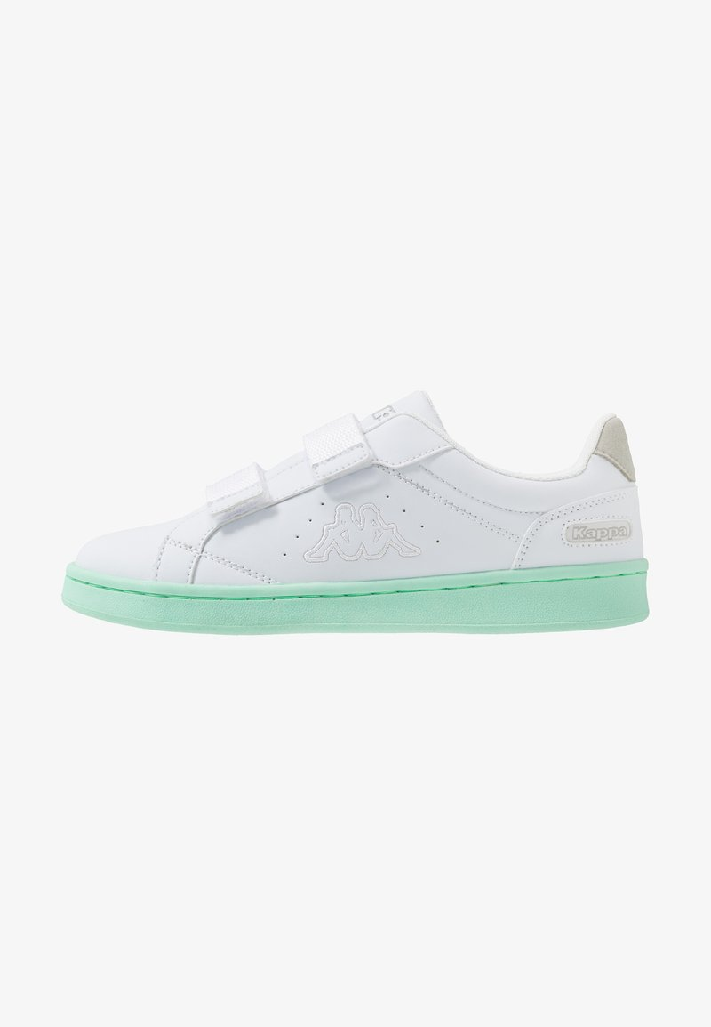 Kappa - CLAVE - Trainers - white/mint
