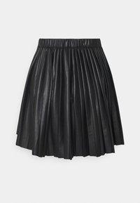 Monki - YANNI PLEATED SKIRT - A-line skjørt - black - 1