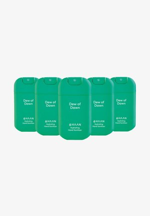 HAAN 5 PACK HAND SANITIZER - Bath and body set - dew of dawn