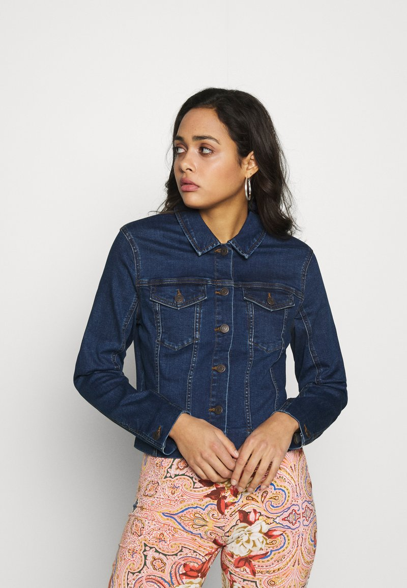 Vero Moda - VMSONYA JACKET - Džínová bunda - medium blue denim