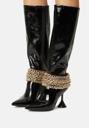 ENTITY - High heeled boots - black