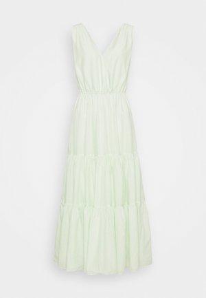 SURPLICE TIERED  - Maxi dress - honeydew