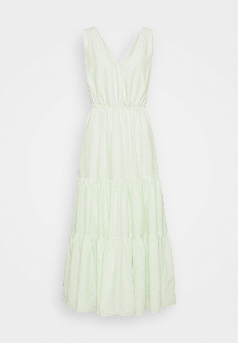 Banana Republic Tall - SURPLICE TIERED  - Maxi dress - honeydew